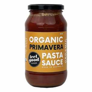 Organic Pasta Sauce Primavera