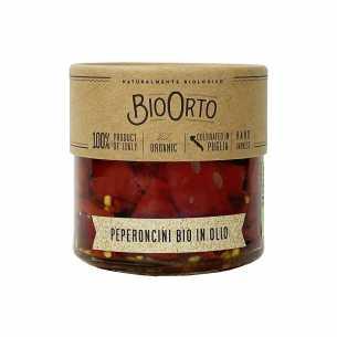 Pepperoncino Chilli Pepper in Oil