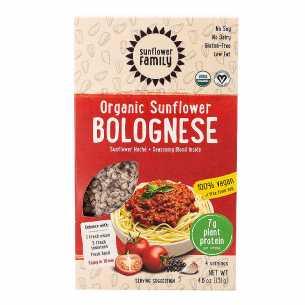 Organic Sunflower Mince Bolognese Meal Kit