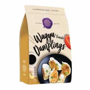 Dumplings Wagyu Tomato