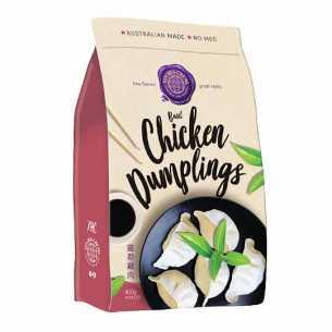 Dumplings Chicken Basil