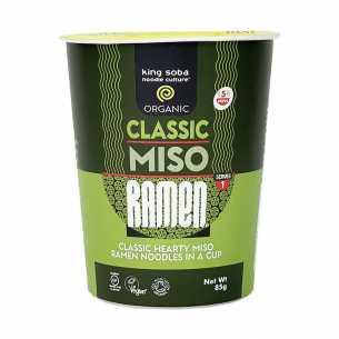 Classic Miso Ramen Noodles