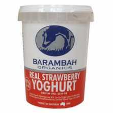 Barambah <br />Real Strawberry Yoghurt  500g