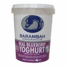 Barambah <br />Real Blueberry Yoghurt 500g