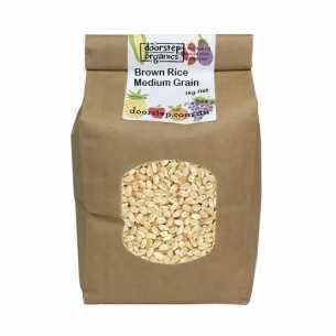Organic Rice Brown Medium Grain
