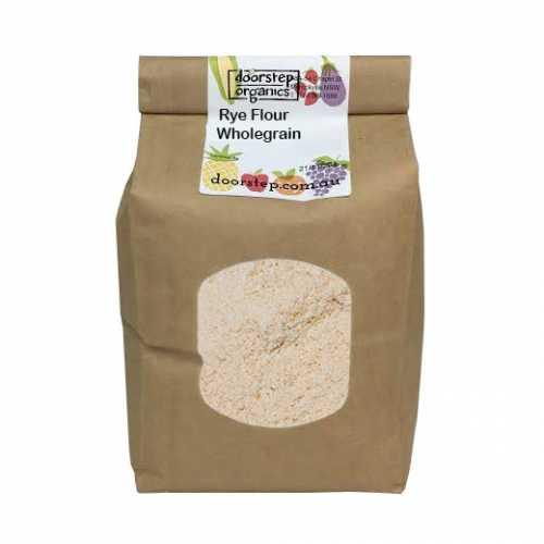 Organic Rye Flour Wholegrain