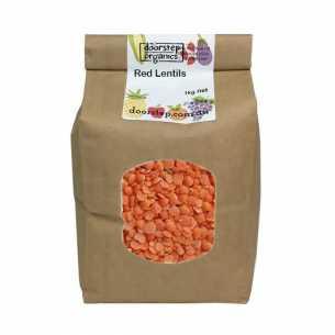 Organic Red Lentils Split